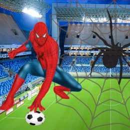 لعبة سبايدر مان كرة القدم Spidy Soccer - العاب ميزو